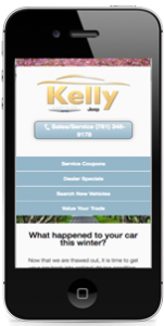 Kelly Template iphone Sample